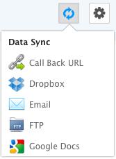 Grepsr Data Synchronize Options