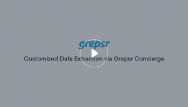 Customized Data Extraction via Grepsr Concierge