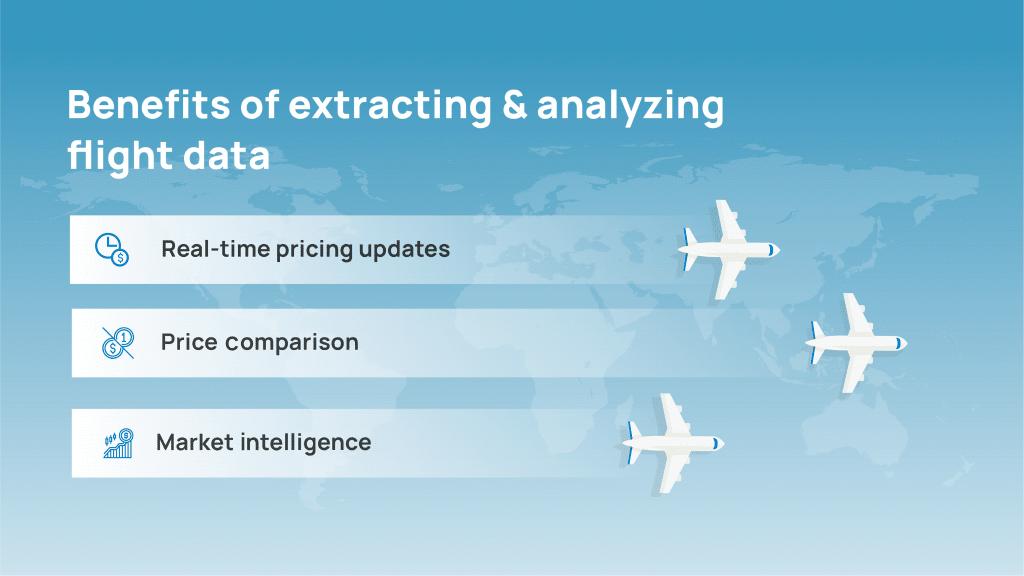 Benefits of flight data extraction