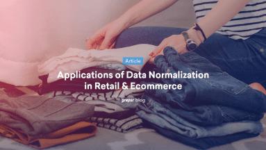 data normalization in ecommerce